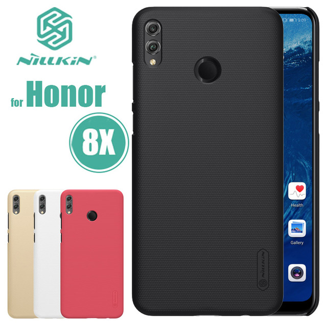 "For Huawei Honor 8x MAX Original case hard black cover NILLKIN Super Frosted Shield case For Huawei Honor 8 X 6.5"" PC phone case"
