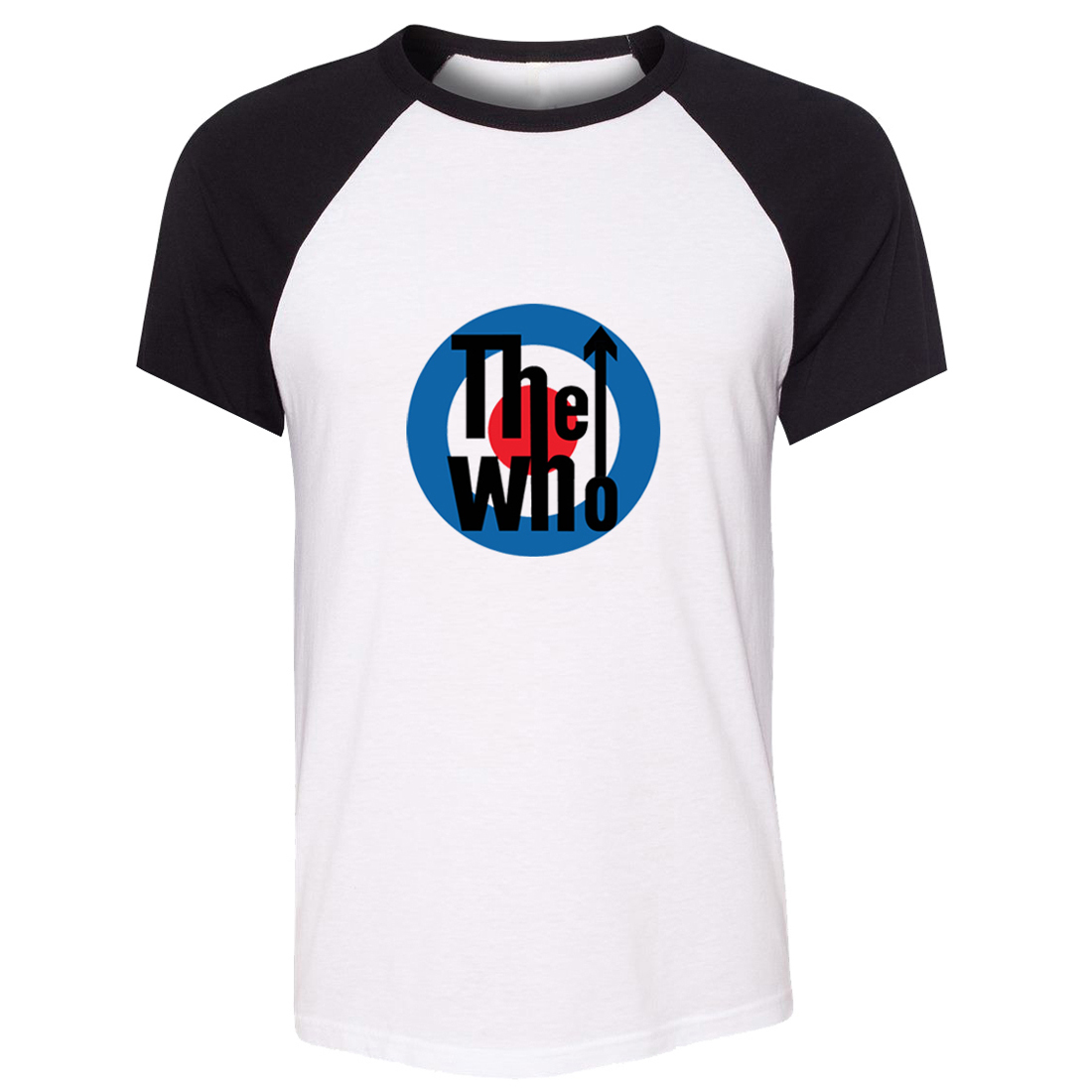 9ee2a96df954c Camiseta unisex el que banda Roger daltrey John Entwistle Keith Moon Pete  Townshend patrón de manga corta hombres camiseta casual camiseta