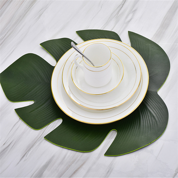Leaf-shaped Placemat 1
