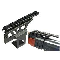 Caza AK 47 AK 74 Ris Rail lado frontal linterna láser Dot receptor de montaje de vista|Accesorios y monturas para visores|Deportes y entretenimiento -