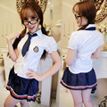 Sexy cosplay costumes student lingerie navy sailor dress Sex Cosplay School girl Student lingerie Women Lingerie Cosplay Uniform