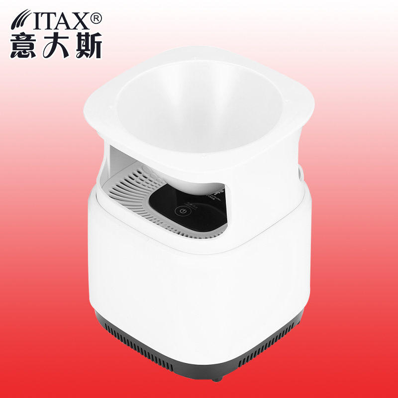 Air Purifier Cleaner Desktop Anion Sterilization Remove Cigarette Smoke Odor Smell Bacteria with Flowerpot White цена и фото