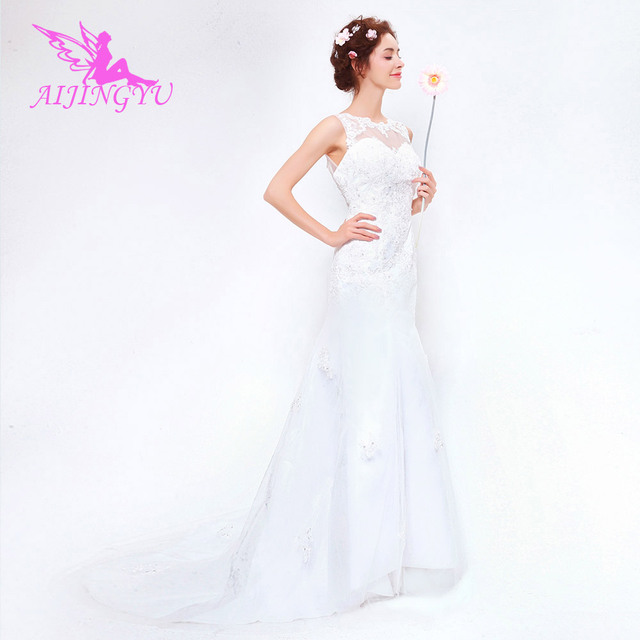 AIJINGYU 2018 new free shipping china bridal gowns cheap simple ...