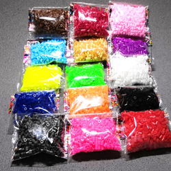 15 color Kids Hama Beads 5mm Complement Perler Beads 5mm Refill 3D Puzzles Creative DIY Beads Handmade Craft Puzzles 7500pcs