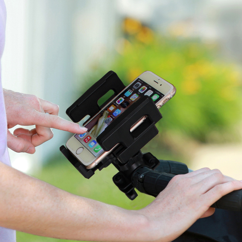 Universal Stroller//Buggy//Bike//Jogger Bar Mount Tablet PC iPad Holder Stand