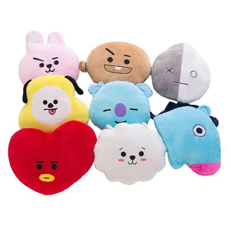 Original Bts Plush Keychains Toy Kpop Bangtan Boys Bt21 Warm Bolster Tata Van Cooky Chimmy Shooky Koya Rj Mang Bt21 Dolls Toys & Hobbies