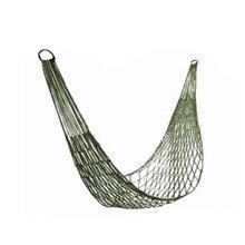 Высококачественные уличные продукты, тяжелый армейский зеленый сетчатый гамак для кемпинга, нейлоновый Канат, односпальный гамак, еще 4 метра обвязочная веревка