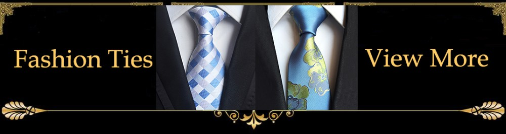 Fashion blue Ties