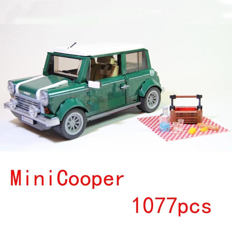Mailackers Legoing Technic 10252 la MINI Cooper 1108 pièces ensemble blocs de construction jouets pour enfants Legoings créateurs voiture 10242 Legoe