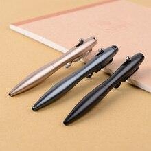 Sıcak satış dayanıklı Tungsten çelik cam kesici defensa kişisel yazma kalemi açık spor yürüyüş kendini savunma taktik kalem
