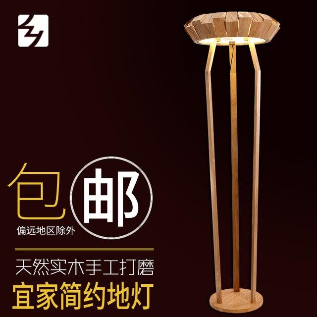 Nirgendwo Kreative Holz Wohnzimmer Stehleuchte Schlafzimmer Lampe Studie High End Villa Stehlampe IKEA