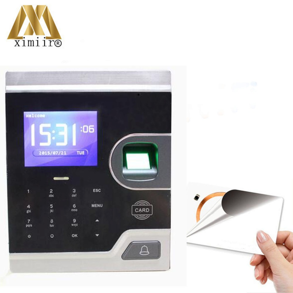 M80 Color screen with IC Card Reader TCP/IP communication Biometric Fingerprint Access Control And Time Attendance|Fingerprint Recognition Device| |  - title=