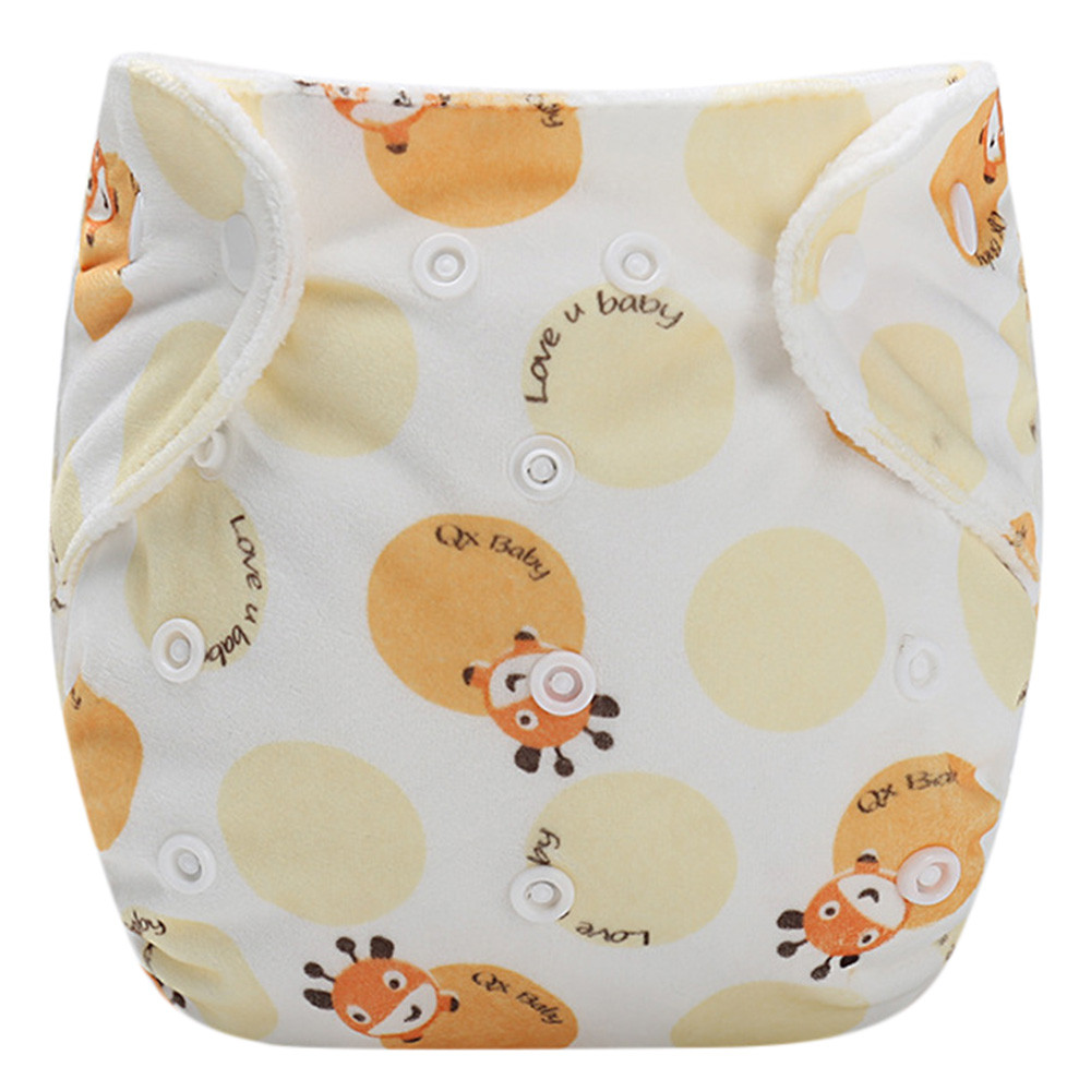 MUQGEW 2019 Hot Sale Baby Infant Kid Training Pants Reusable Adjustable Diaper Washable Nappies  Dropshipping Baby Clothes(China)