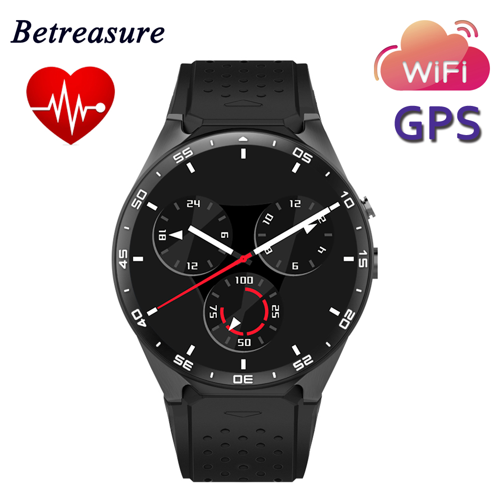 Betreasure kw88 smart watch caliente android 5.1 os 1.39 \