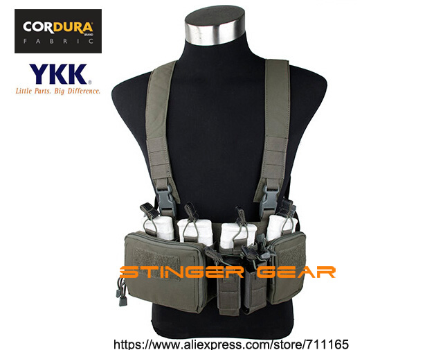 7.62 Chest Rig Cordura RG Tactical Strategic Chest Rig Tactical Gear+Free shipping(STG050841)