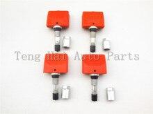 (X4) Датчики Давления в Шинах TPMS для Renault Clio MK3 2005-8200253215 433 МГц