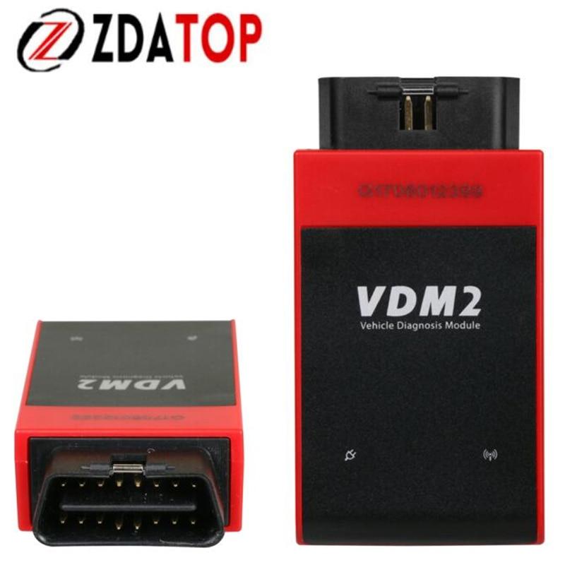 Цена за Заводская цена UCANDAS VDM2 Авто диагностический инструмент UCANDAS ВДМ II для Android Поддержка Wi-Fi Car сканер на складе