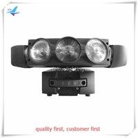 4 шт./лот паук со вращающейся головой 9x12 Вт RGBW 4IN1 Светодиодный прожектор прокатки наклона DMX512 светомузыка с подвижной головкой