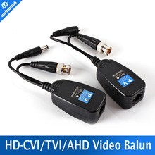 1CH Passive Balun RJ45 CCTV Balun Video Balun Transceiver Supply Power For HDCVI/HDTVI/AHD Analog High Definition Camera