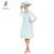 2017 Top de Renda Mãe dos Vestidos de Noiva com Jaqueta de Chiffon de Três Quartos Manga Chá Comprimento do Vestido de Festa À Noite