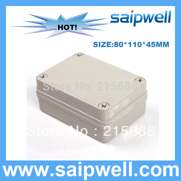 2015 LOW COST waterproof terminal junction box plastic injection mold controller enclosure 80 110 45MM DS