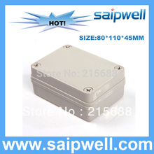 2015 LOW COST waterproof terminal junction box plastic injection mold controller enclosure 80*110*45MM DS-AG-0811-S