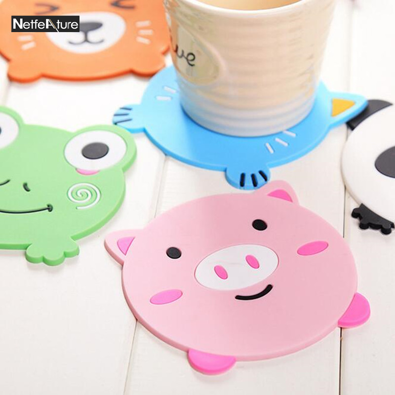 Multi function Phone Holder Silicone Coaster Cup Cushion Drink Placemat Tea Mat