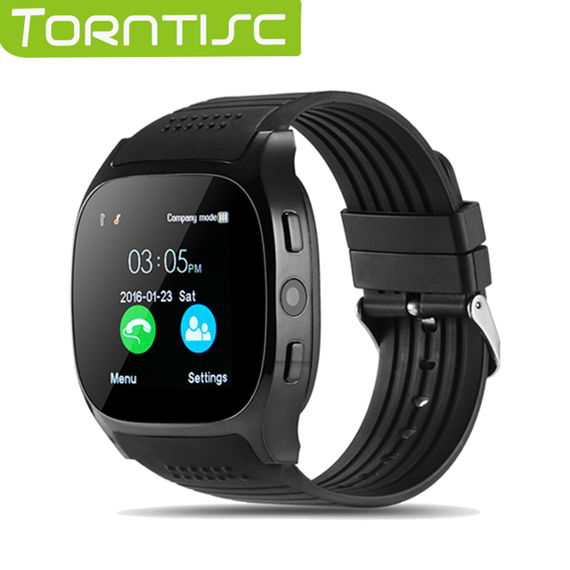 46c031041781 Torntisc T8 Bluetooth Smart Watch Support SIM TF Card LBS Locating with  0.3MP camera smartwatch Sports Wristwatch for Android