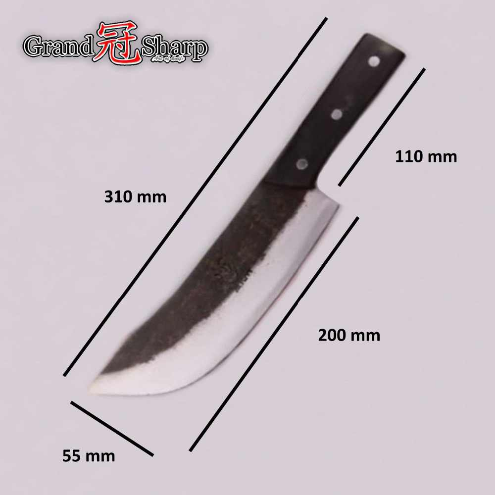 Surprising Chef Cleaver Knife Chopper Slicing Cooking Tools Handmade Kitchen Knives Traditional Chinese Style Pro Sharp Slaughter Knife New Download Free Architecture Designs Grimeyleaguecom
