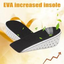 купить 2019 Droppshiping 1 Pair Insole Heel Lift Insert Shoe Pad Height Increase Slow Rising Cushion Taller BFJ55 дешево