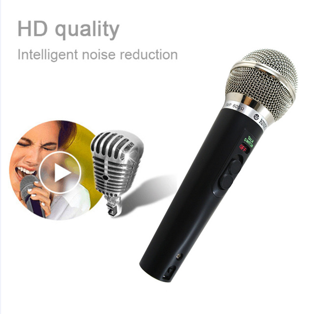 KTV Microphone Cardioid Pro Audio Studio Vocal Recording Mic KTV Karaoke+ Metal Shock Mount Handheld Dynamic Wired Microphone