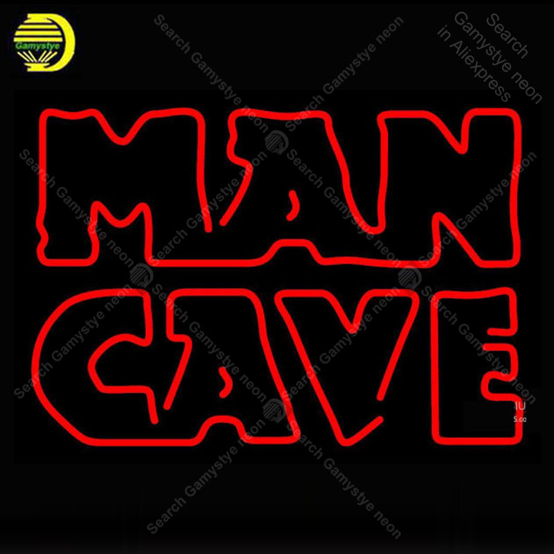 NEON SIGN For Red Man Cave NEON Bulbs Signs Lamp Real GLASS Tube Decor Room Wall Club Room Handcraft Advertise Beer Bar neonNEON SIGN For Red Man Cave NEON Bulbs Signs Lamp Real GLASS Tube Decor Room Wall Club Room Handcraft Advertise Beer Bar neon