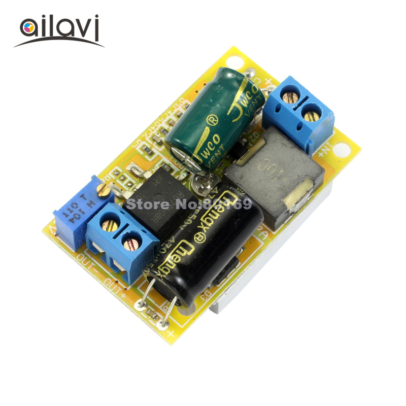 цена на DC-DC Boost Converter 7-35V to 8-50V 5A Car Laptop Power Supply Step-up Module 60W High Efficiency 94%