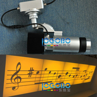 Free Shipping 30W Led Art Decorative Office Design Gobo Projector Light 4200 Lumen Color Brightness Outdoor Indoor Entertainment