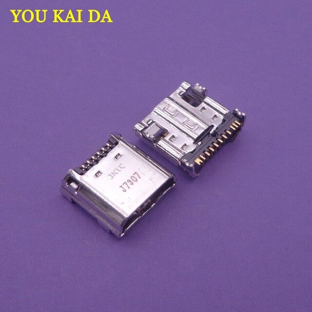 Connecteur de chargeur Micro USB 5 pièces | Port de charge Original pour Samsung Tab 3 7.0 I9200 I9205 P5200 T210 T211 T211,