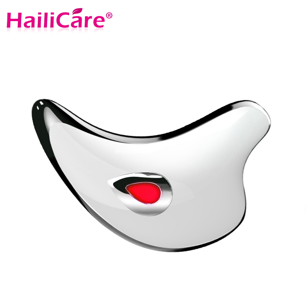 Facial Lift TCM Gua Sha Electric Massage Therapy Board Wrinkle Remover Face Skin Beauty Firmig Slimming Vibration Massager Care