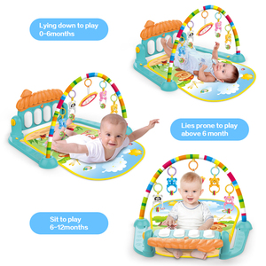 Image 3 - Dropship детский коврик, музыкальная активность, тренажерный зал, пазл, детский коврик, мягкий коврик, напольная игра, развивающие игрушки