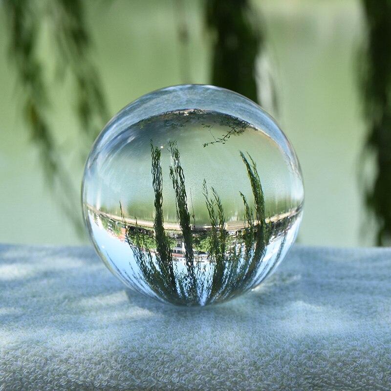 8cm Crystal Ball Fengshui Ball Home Decor Magic Healing