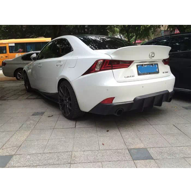 Wald Style Unpainted Fiberglass rear Boot trunk wing spoiler For Lexus IS250 IS350 2013~2015 susana wald spanish for dummies