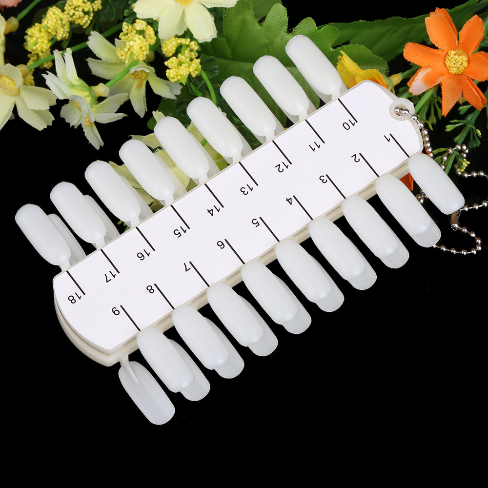 Aliexpress buy 36 tips double layer nail art milky white aliexpress buy 36 tips double layer nail art milky white color card polish display nail art practice design training nail display color from reliable prinsesfo Image collections