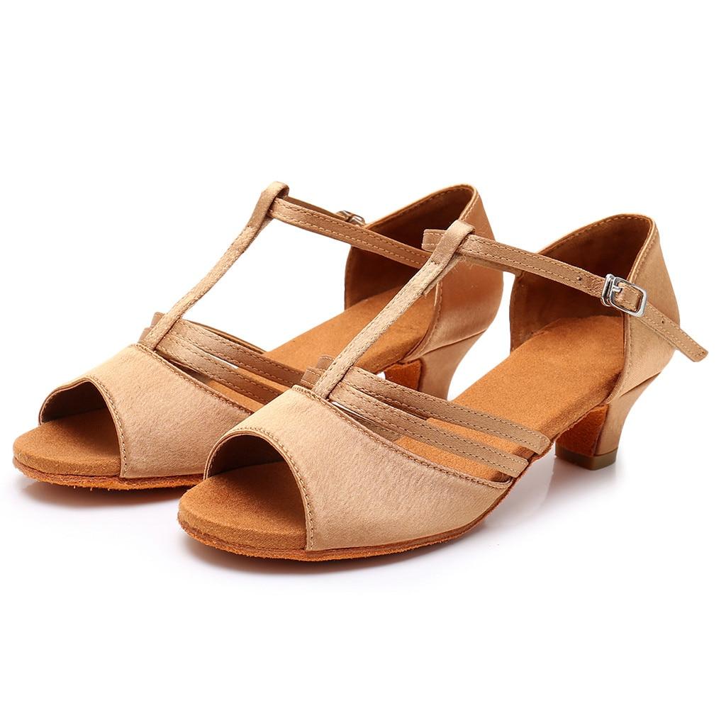 JAYCOSIN Sandals Dance-Shoes Breathable Fashion Women Salsa Comfort Latin Rumba APR1