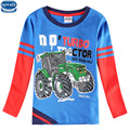 novatx A6503 2016 retail new arrival nova  children kids boys clothes long sleeve t-shirt for spring autumn t-shirt baby boys