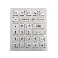 Metal Numeric keyboard Industrial keyboard Stainless steel keyboard