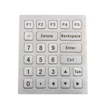 Metal Numeric keyboard Industrial keyboard Stainless steel keyboard metal keyboard with explosion proof industrial numeric keypad with 12keys waterproof numeric keypads matrix keypads