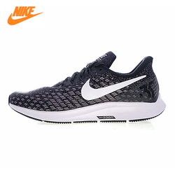 Nike Air Zoom Pegasus 35 Men's Running Shoes, Grey & White Red, Breathable Lightweight Wear Resistant 942851 001 942851 006
