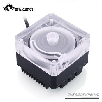 Bykski CP-PA-X B-PUMP-PAV2 , 10 Вт ШИМ водяные насосы охлаждения, максимальный поток 300л/ч, Максимальный подъем 3 метра,