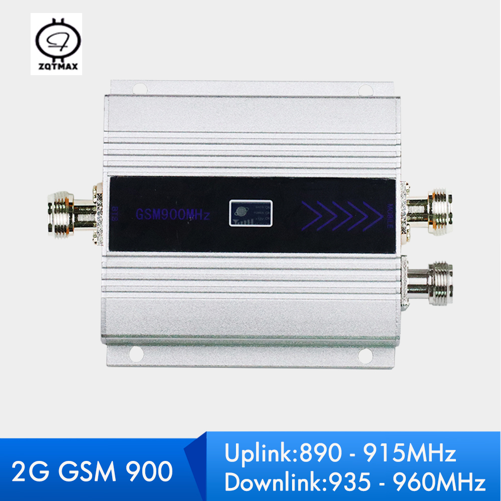 ZQTMAX 2G GSM Cell Phone Signal Booster 900MHz Talk Voice Repeater 60dB Moblie  Amplifier