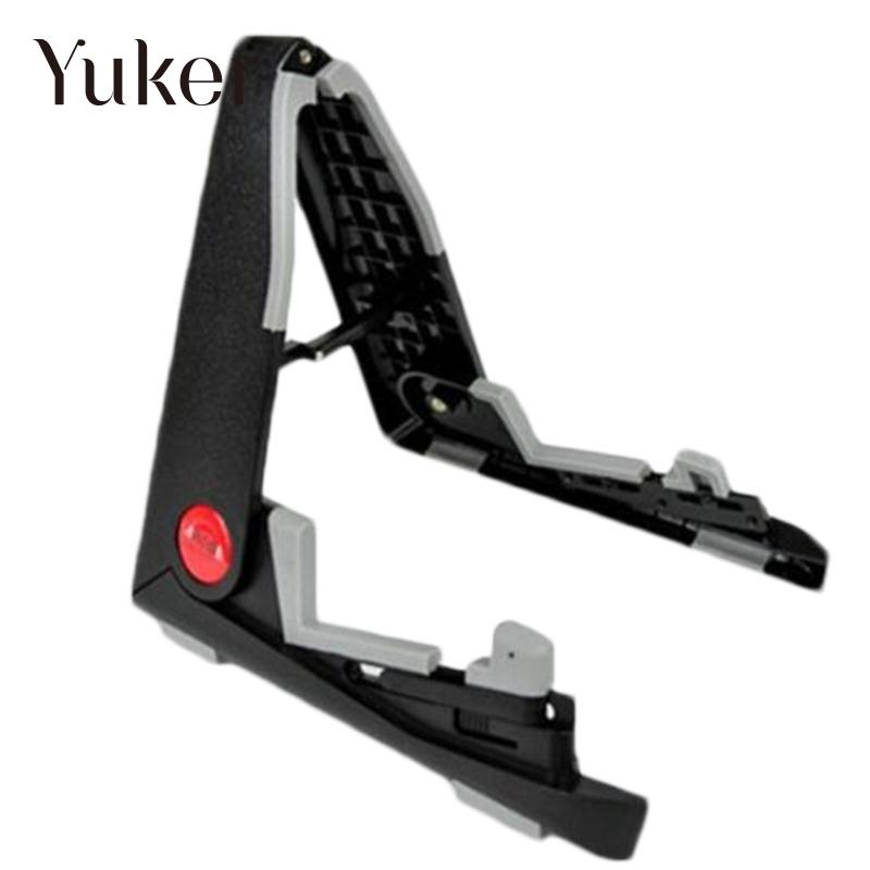 yuker universal black folding ukulele stand aroma aus 02 instrument stand tool in guitar parts. Black Bedroom Furniture Sets. Home Design Ideas