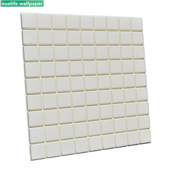 3d mosaic foam wall stickers living room bedroom children's room storefront wall waterproof anti-collision soft pack wallpaper