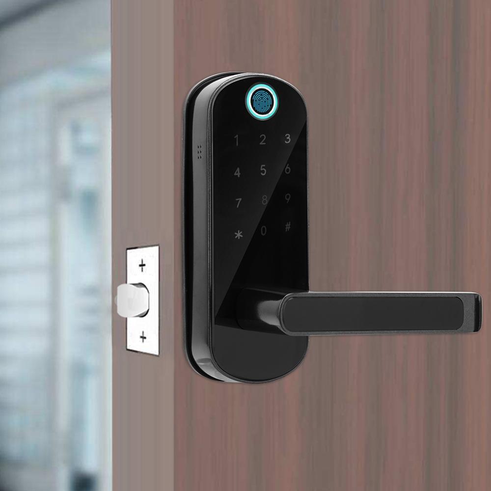 Fingerprint Door Lock Smart Bluetooth Digital Password IC Karte Key Digital Password Fingerprint Door Lock